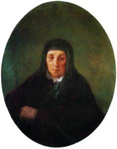 Бабушка Айвазовского 1858г.