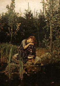 Алёнушка. 1881г.