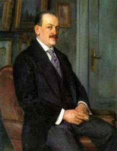 Автопортрет 1915