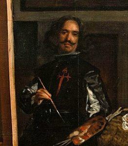 Фрагмент картины Менины 1656 г.