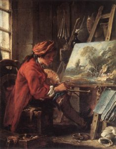 Автопортрет 1720г.