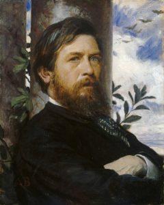 Автопортрет. 1877—1876 г