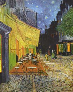 Ночная терраса кафе 1888 г.