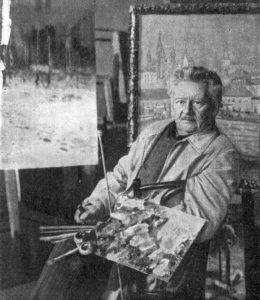 Ю. Ю. Клевер 1914 г.