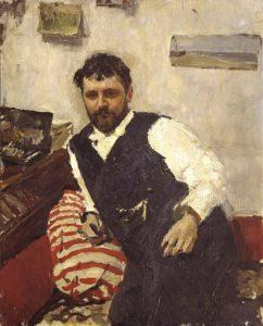 Портрет Коровина, кисти Серова, 1891 г.