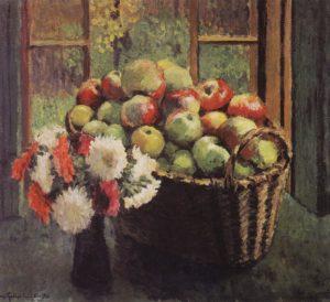 Яблоки и Астры
