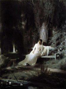 Лунная ночь 1880 г