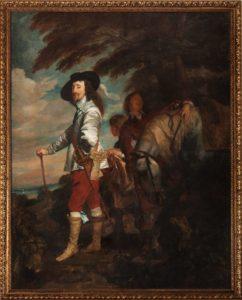 Портрет Карла I на охоте