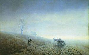 Осенняя распутица 1870г.