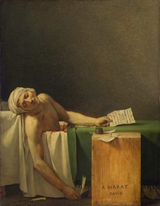 Смерть Марата 1793 г.