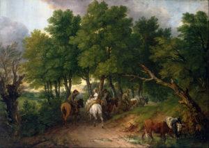 Возвращение крестьян с рынка 1767–1768 г.
