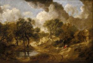 Пейзаж в Саффолке 1746-1750 г.