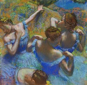Голубые танцовщицы 1897 г.