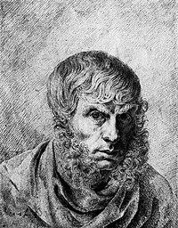 Каспар Давид Фридрих автопортрет