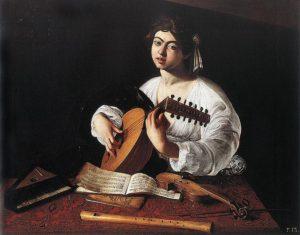 Лютнист около 1595 г.