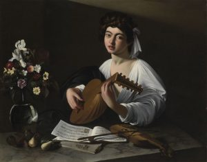 Лютнист около 1596 г.
