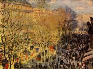 Бульвар Капуцинок в Париже
