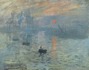 Впечатление. Восходящее солнце 1872 г.
