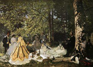 Завтрак на траве 1866 г.