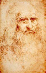 Леонардо да Винчи предполагаемый автопортрет