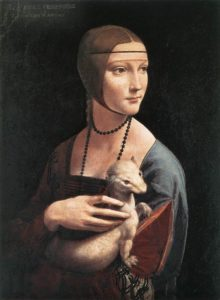Дама с горностаем 1489–1490 г.