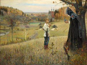 Видение отроку Варфоломею 1889—1890 г.