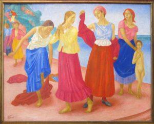 Девушки на Волге 1915 г.