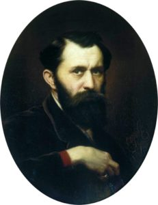 Перов автопортрет 1870 г.