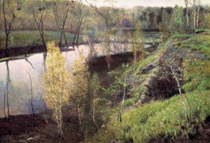 Первая зелень 1887 г.