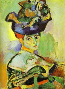 Женщина в шляпе 1905 г.