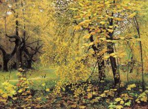 Золотая осень 1887 г.