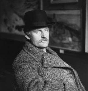 Эдвард Мунк в 1912 г.