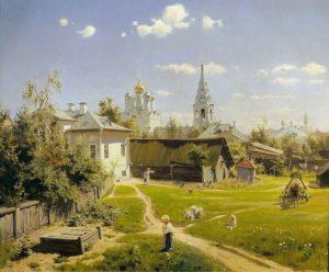 Московский дворик 1878 г.