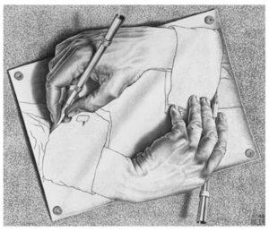 Рисующие руки 1948 г.