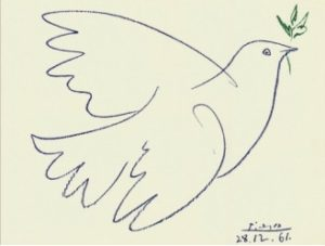 Голубка Пикассо 1949 г.