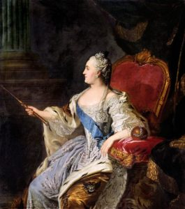 Коронационный портрет Екатерины II 1763 г.