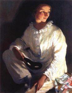Автопортрет в костюме Пьеро 1911 г.