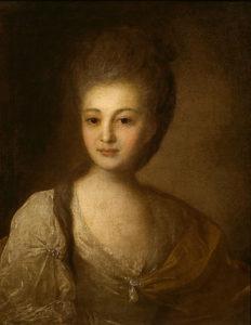 Портрет А.П. Струйской 1772 г.
