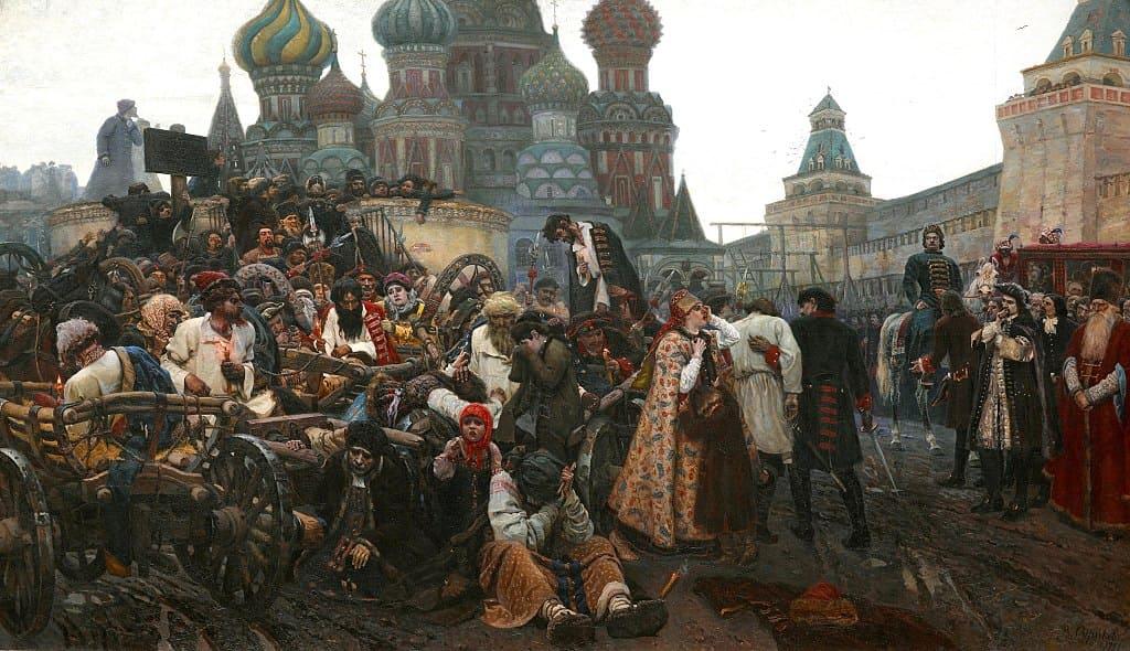 Утро стрелецкой казни 1881 г.