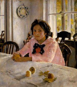 Девочка с персиками 1887 г.