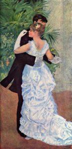 Танец в городе 1883 г.