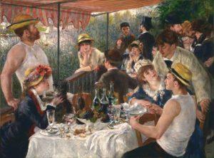 Завтрак гребцов 1880—1881 г.