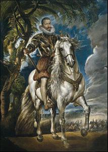 Конный портрет герцога Лерма 1603 г.
