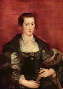 Портрет Изабеллы Брант 1610 г.