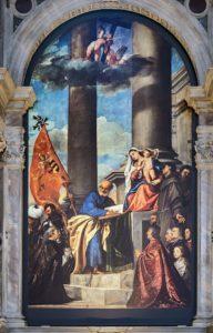 Мадонна Пезаро 1526 г.
