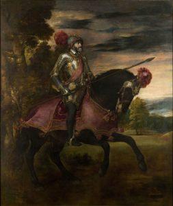 Конный портрет императора Карла V 1548 г.
