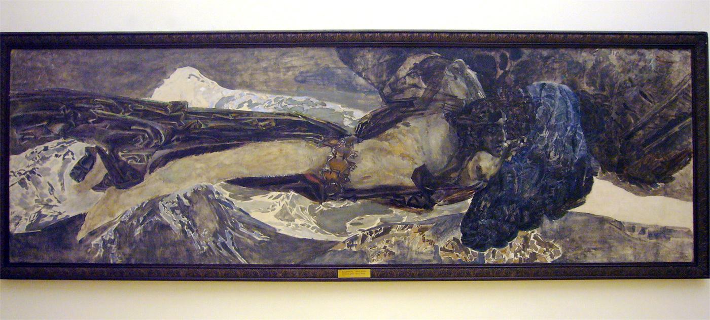 Демон летящий 1899 г.