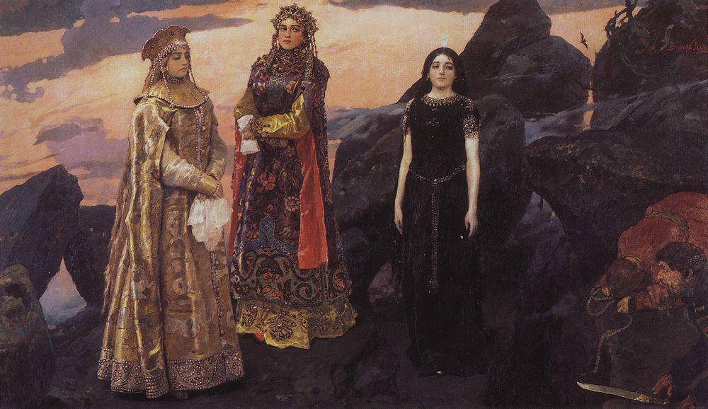 Версия картины 1884 года